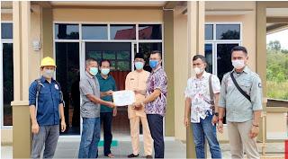 PT Timah Tbk Memberikan Bantuan Kepada Surau Al-Fattah