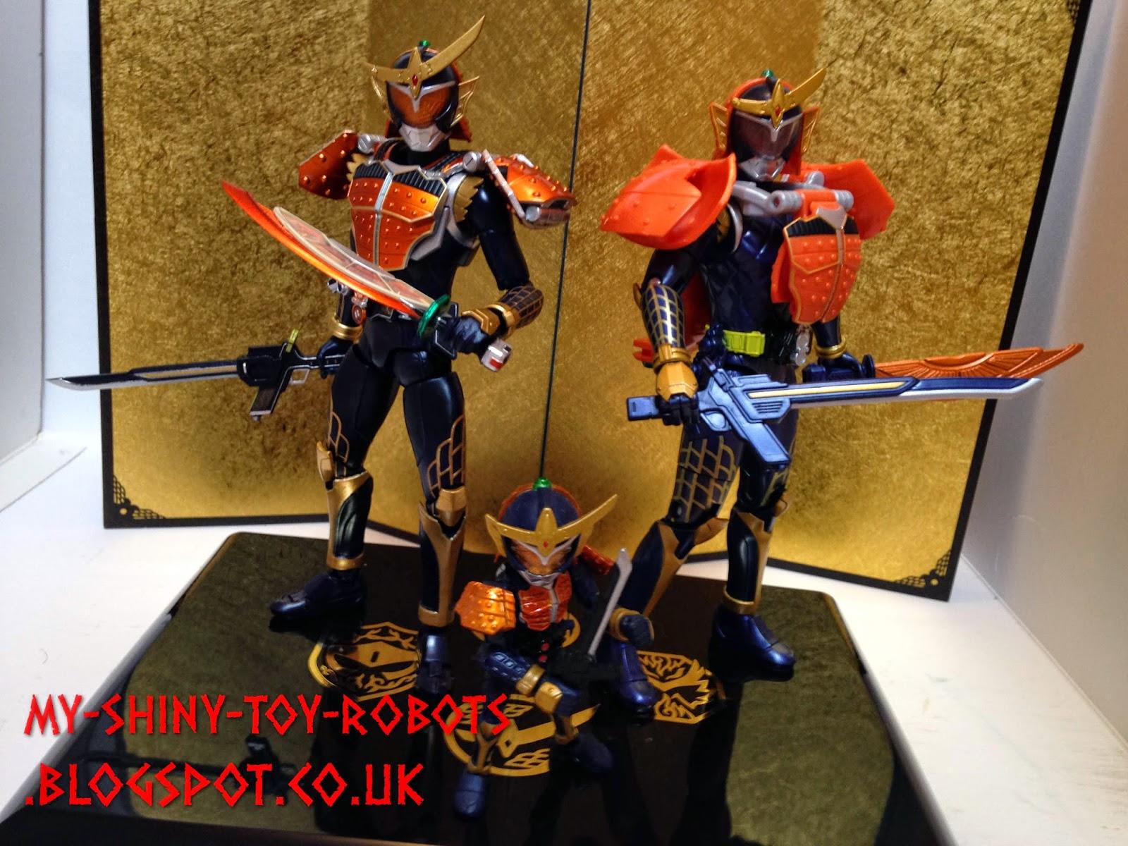 The Kamen Rider Gaim family