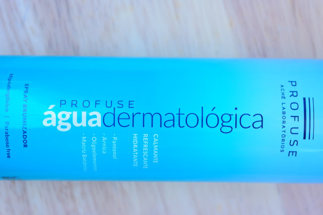 profuse, água dermatológica, limpeza de pele, retração de poros, cuidado com a pele, como retrair os poros, verão, rotina de pele, pele oleosa, acne, cravos, espinhas,