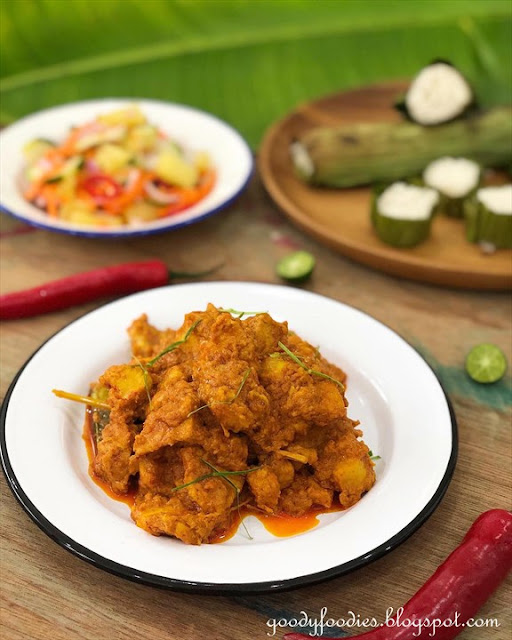 Chicken rendang recipe
