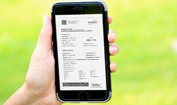 Sunarp: se han emitido más 13 mil Tarjetas de Identificación Vehicular Electrónica (TIVE)