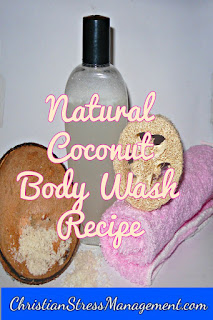Coconut body wash recipe