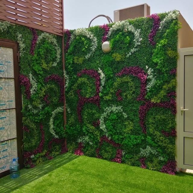 شركة تركيب عشب ببريدة - تنسيق حوش المنزل بالعشب في بريدة