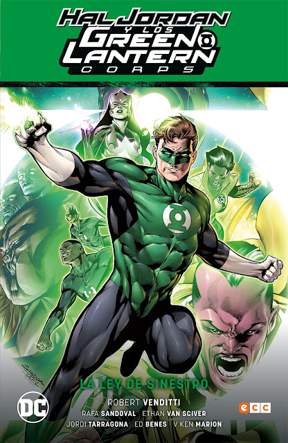 Reseña de Hal Jordan y los Green Lantern Corps: La Ley de Sinestro, de Robert Venditti.