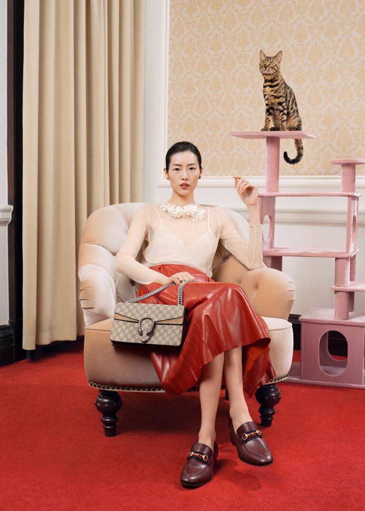 Gucci Beloved 2021 Campaign starring Liu Wen