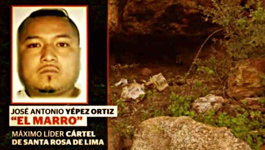 """""""El Marro"""" acorralado y a salto de mata, se esconde en cuevas con armas y comida, para huir de las autoridades en Guanajuato"""