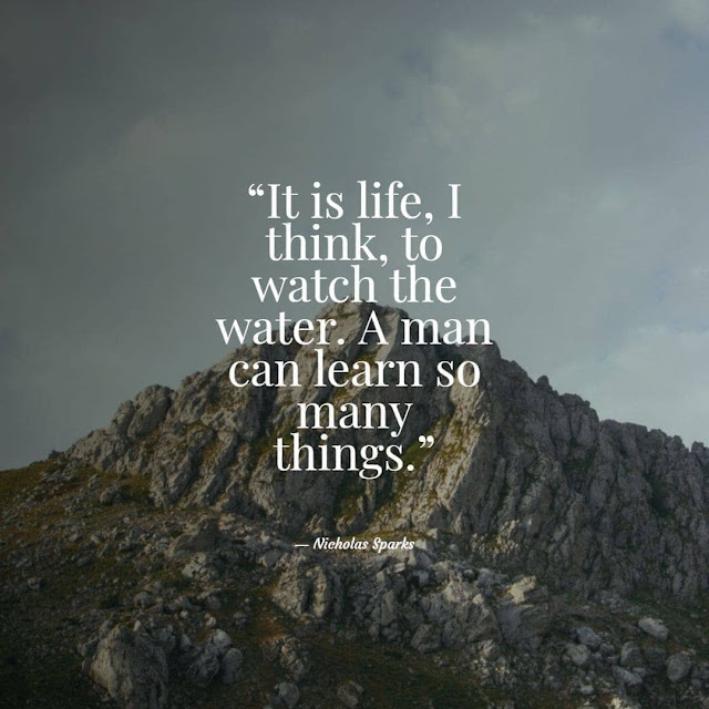 Short quotes on water