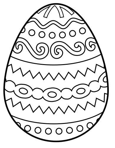 Images For Easter Egg Coloring
