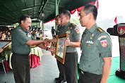 Danrem 071/Wijayakusuma Terima Penghargaan Satker dengan Indikator Kinerja Pelaksanaan Anggaran Terbaik II Tingkat Kodam IV/Diponegoro