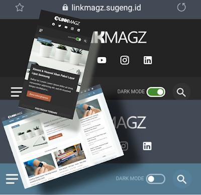 Template Blogger Linkmagz