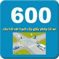 Download phần mềm 600 câu hỏi thi sát hạch lái xe b2