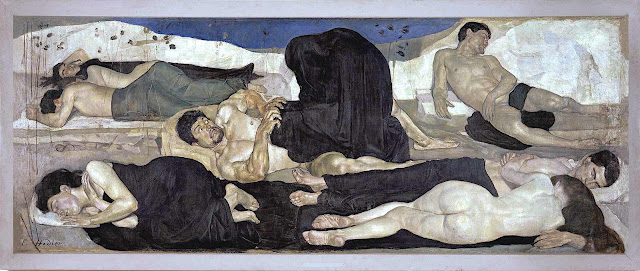 Ferdinand Hodler, nightmare, bad dream