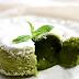 Bánh matcha lava cake vô cùng sang trọng ở nhà hàng