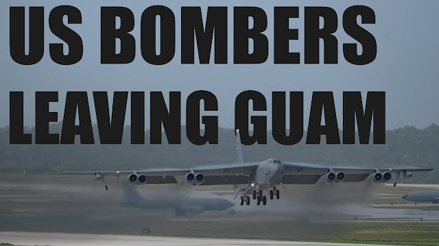 US-Bombers-Leave-Guam-After-16-Years