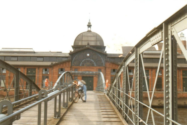 Fischauktionshalle in Hamburg-Altona - Sommer 1998