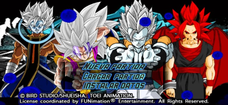 Dragon Ball AF DBZ TTT MOD Android PSP Game
