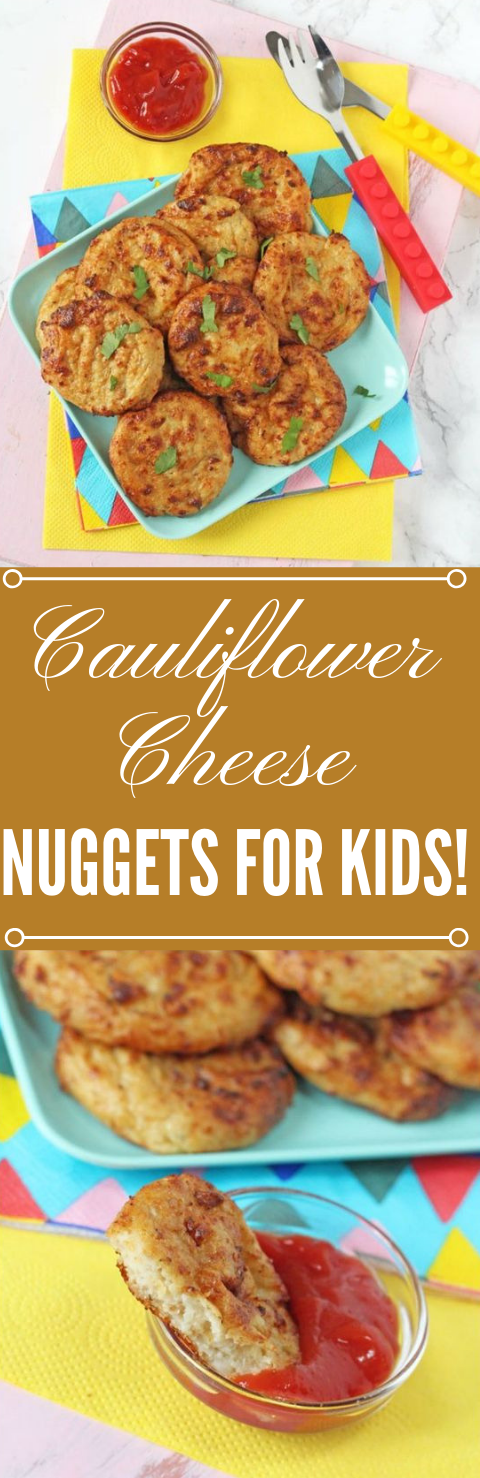 CAULIFLOWER CHEESE NUGGETS #cauliflower #vegetraian #vegan #easy #dinner