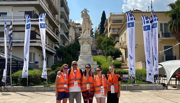 Συνεργασία του ΚΕΘΕΑ ΕΞΟΔΟΣ με το Γραφείο Εθελοντών του Δήμου Λαμιέων