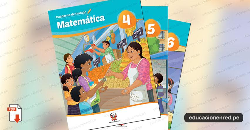 MINEDU: MATEMÁTICA - Cuaderno de trabajo para Cuarto, Quinto y Sexto grado de Educación Primaria 2019 (.PDF) www.minedu.gob.pe