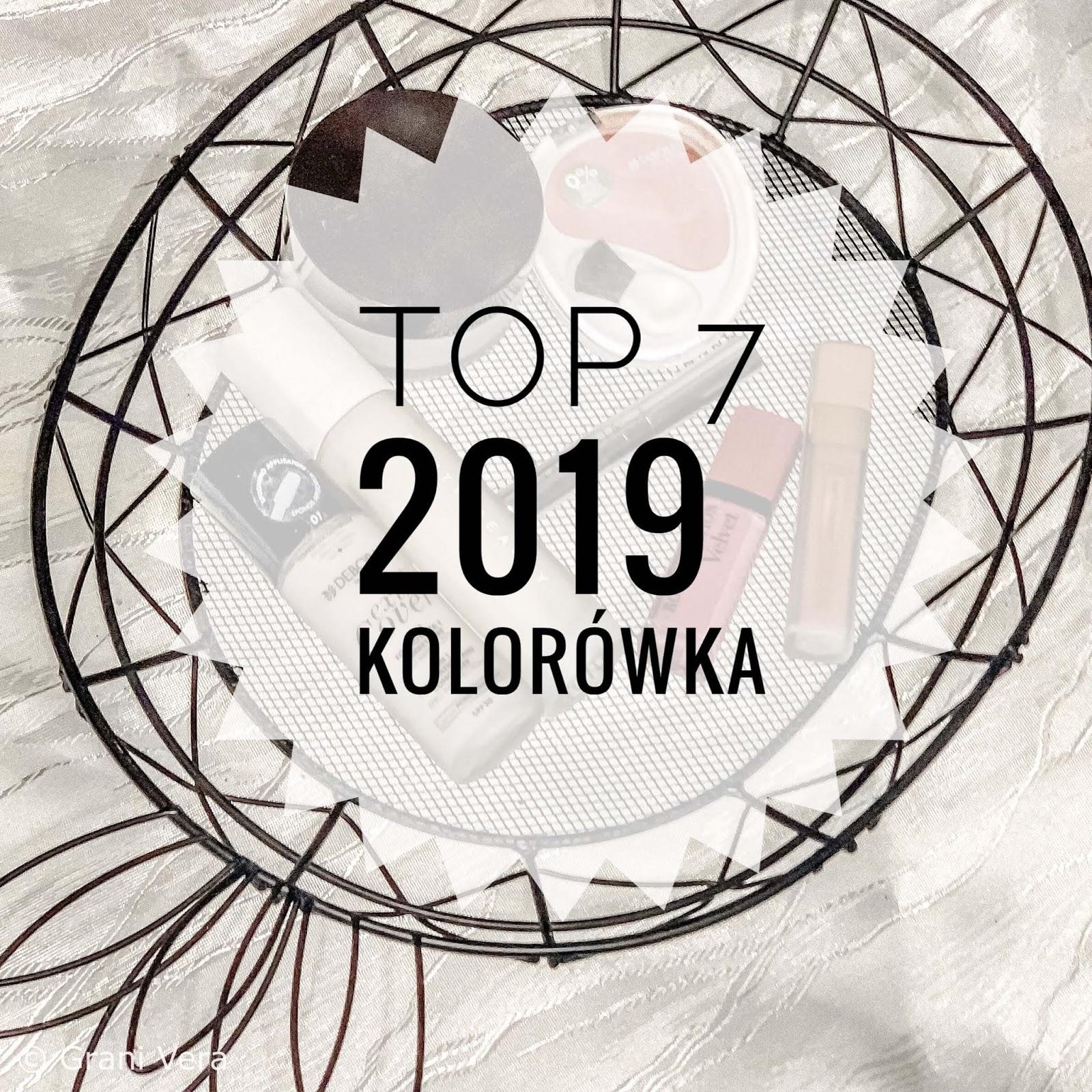 Moje TOP 7 2019 Kolorówka