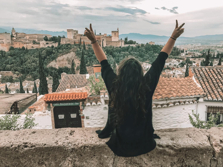 Granada Spain Viewpoint