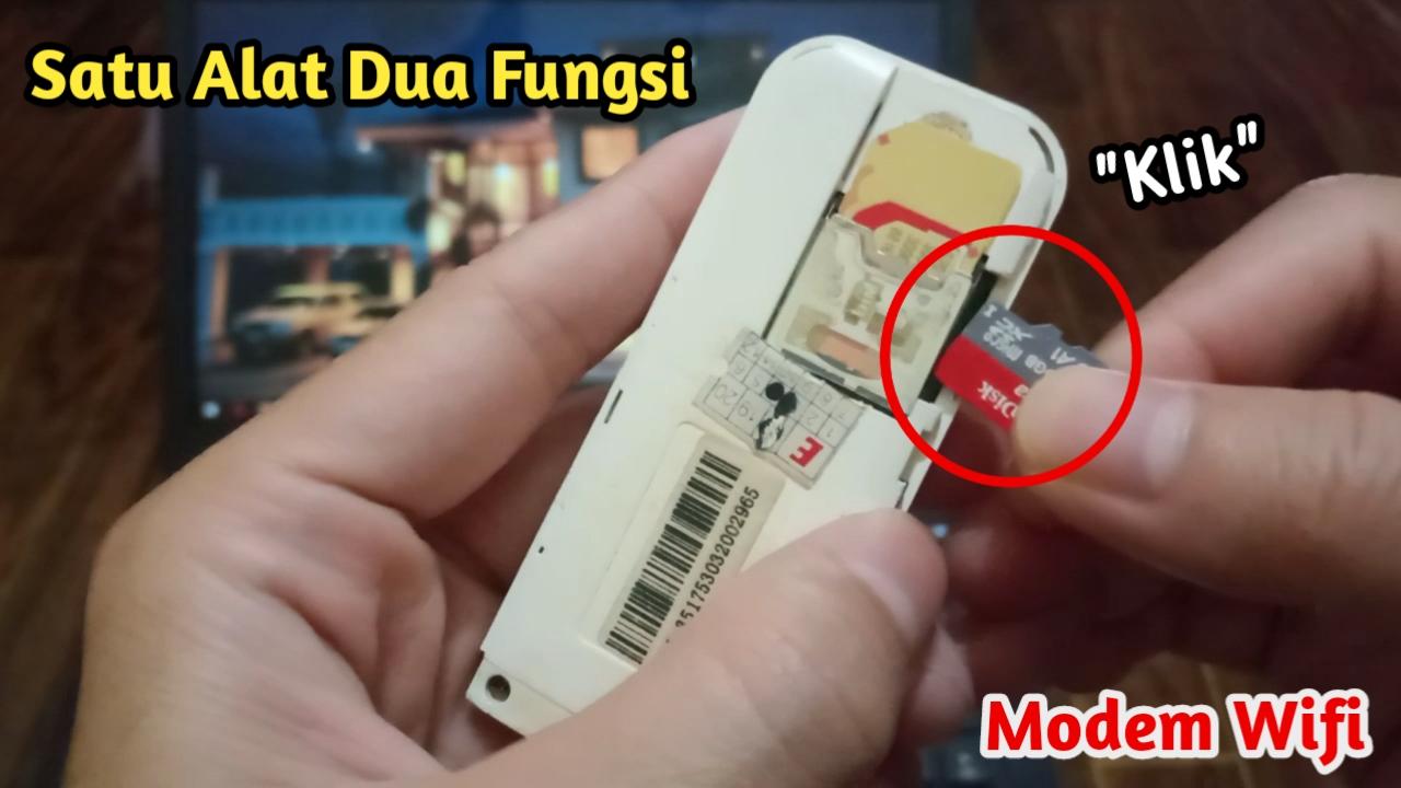 Part 13: Banyak Yang Gak Tau! Ini Fungsi Slot Kecil Modem WiFi (MiFi)