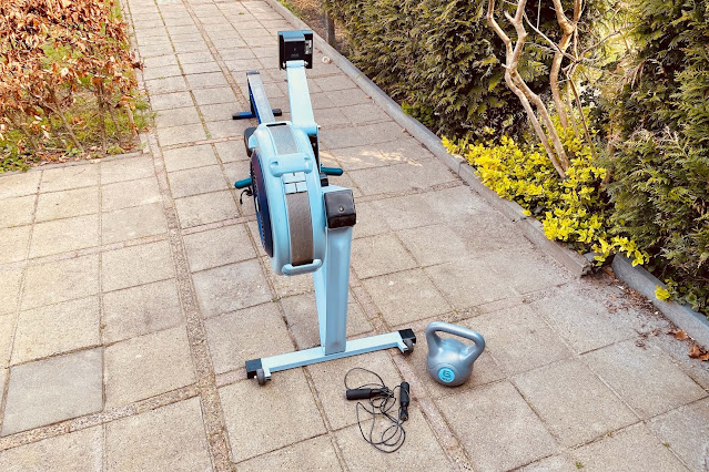 Workout in de tuin