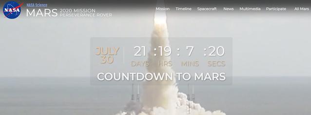 Retransmisión comentada de una misión histórica hacía Marte con el rover Perseverance y el Dron Ingenuity