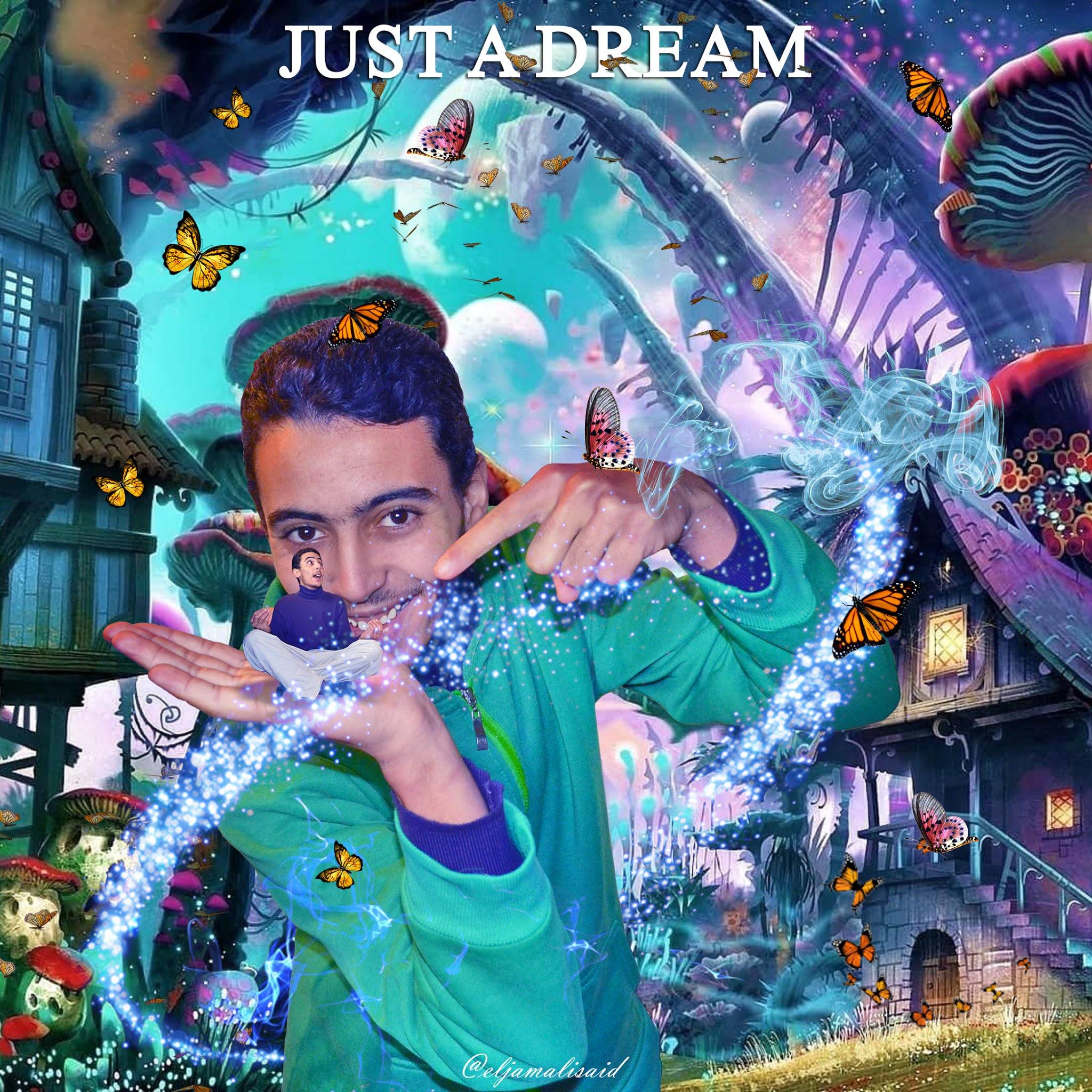 Just a Dream صورة بعنوان مجرد حلم تصميم سعيد الجمالي