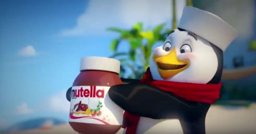 Canzone Nutella pubblicità invia foto scopri ricette di pinguino - Musica spot Dicembre 2016
