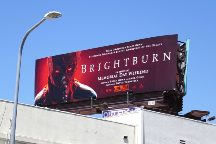 Brightburn film billboard