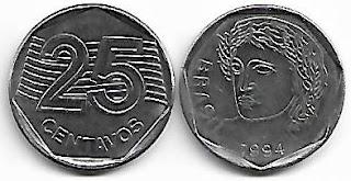 25 centavos, 1994
