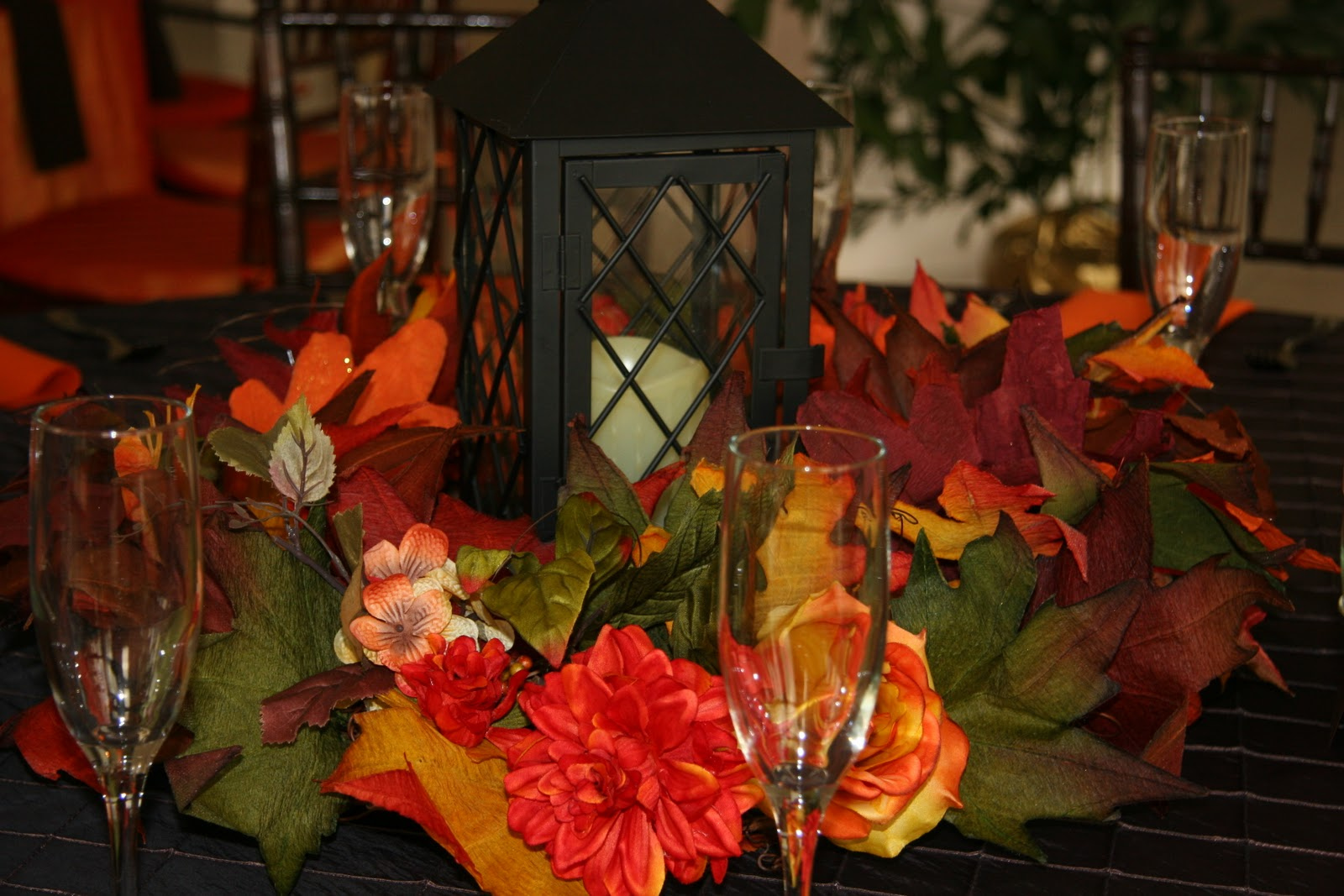 Ideas For Fall Wedding Centerpieces: Ingrid Rhodes Styled Events: Fall Wedding Reception