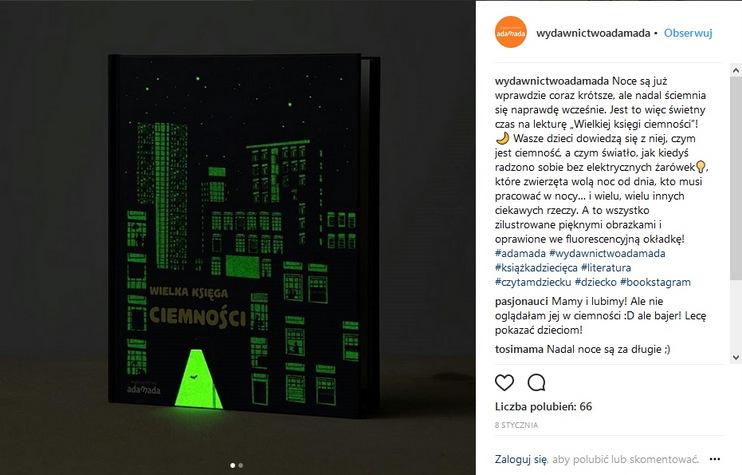 https://www.instagram.com/wydawnictwoadamada/
