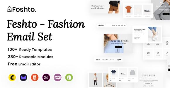 Fashion Email Set