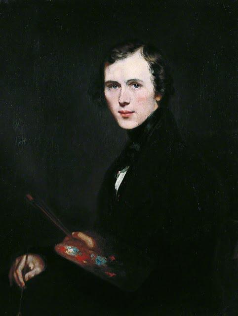Thomas Sidney Cooper, Self Portrait, Portraits of Painters, Thomas Sidney, Fine arts, Sidney Cooper, Portraits of painters blog, Paintings of Thomas Sidney, Painter Thomas Sidney