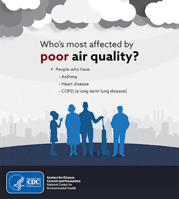 Poor Air Quality, CDC