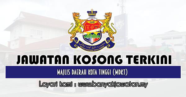 Jawatan Kosong 2019 di Majlis Daerah Kota Tinggi (MDKT)