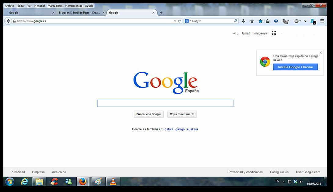 ventana Google