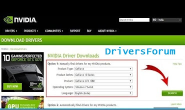 Nvidia Drivers for Windows 10 64 Bit