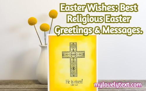 religious Easter Greetings