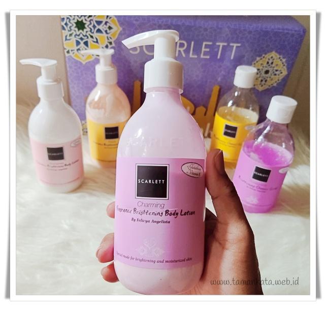 review body lotion scarlett