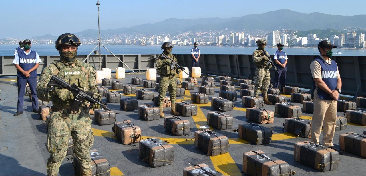 La guerra contra el Narco en altamar: una batalla poco conocida de la Marina