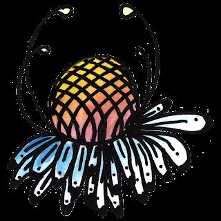 Free Doodle Flower Clipart