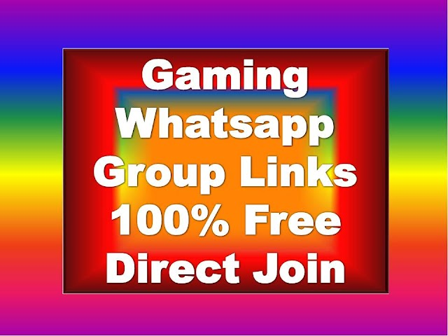 Gaming Whatsapp Group Links
