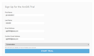 Sign Up for the ArcGIS Trial