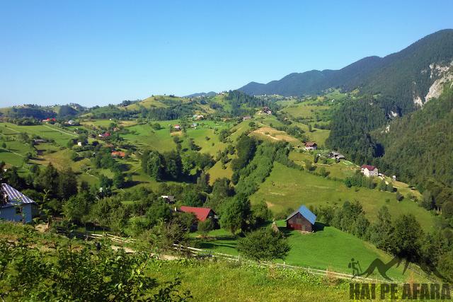 Panorama Satul Măgura din Brașov