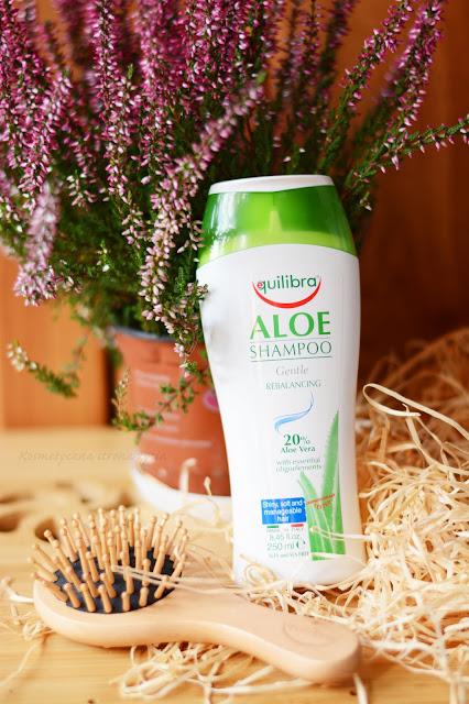 Aloesowy szampon Equilibra