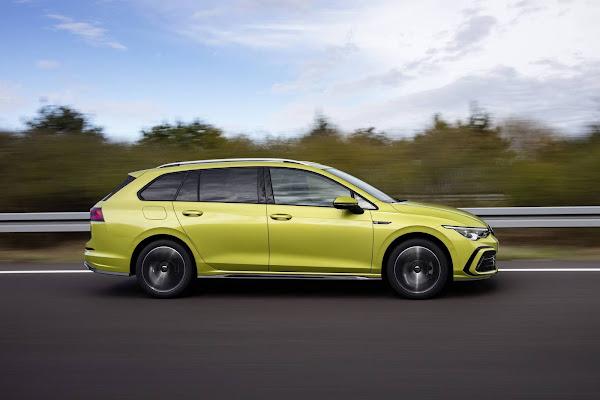 Novo VW Golf Variant 2021: fotos, preços e especificações