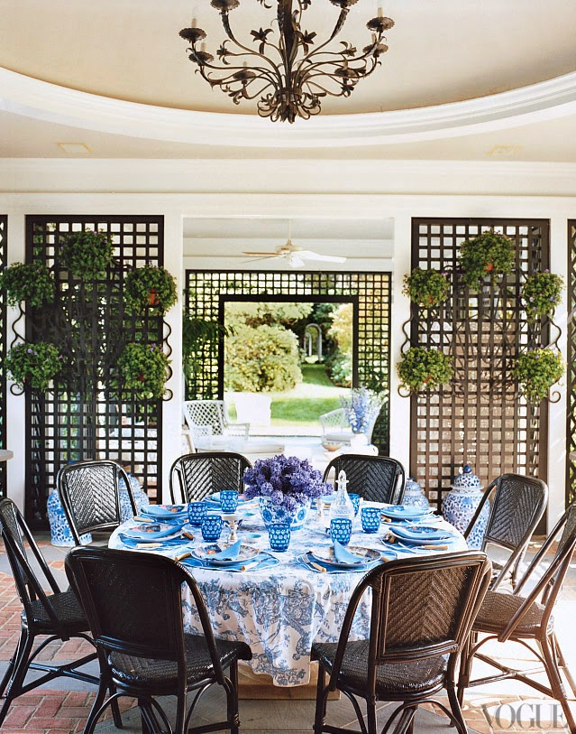 Decor Inspiration - Tory Burch's Southampton Home
